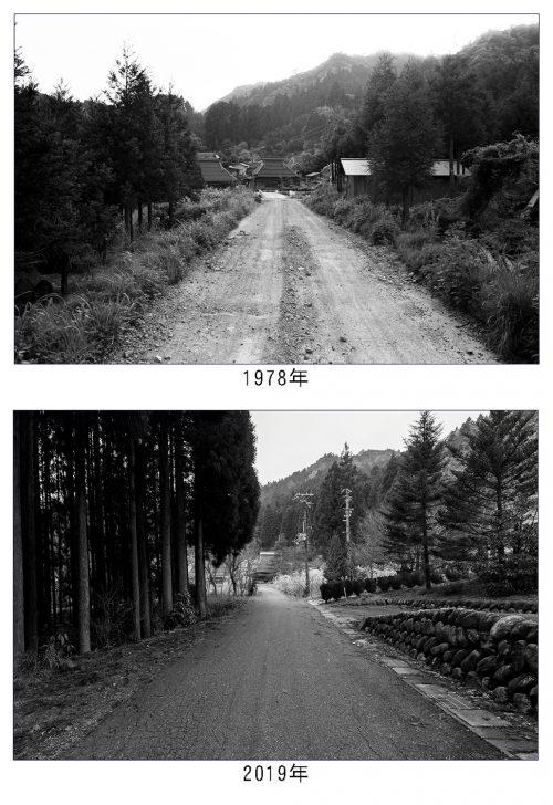 集落の出口の比較