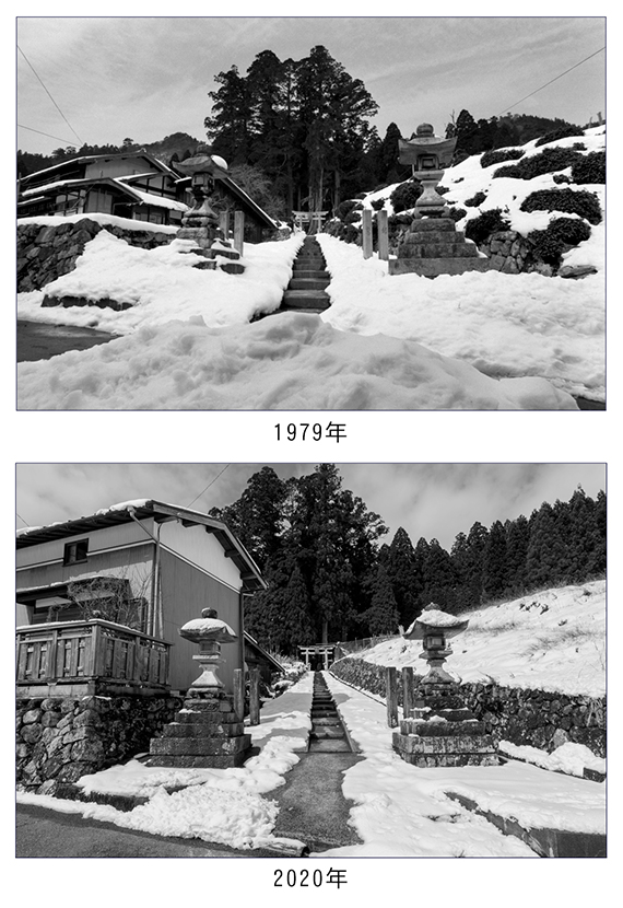 雪の大皇器地祖神社