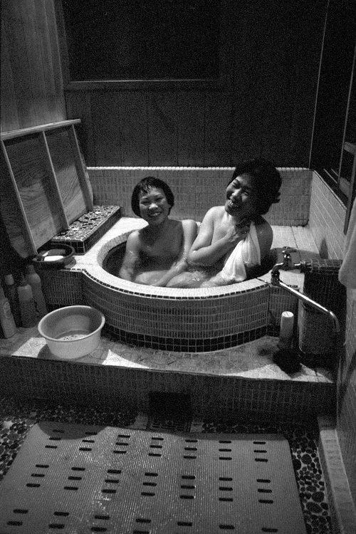 瀬戸さん母娘の入浴