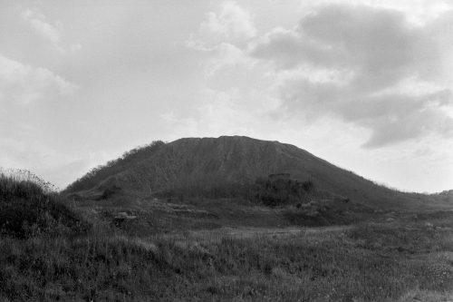 筑穂のぼた山の跡