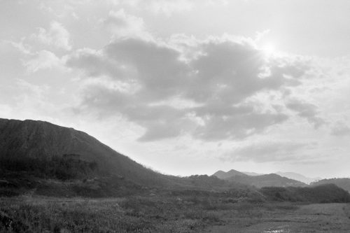 筑豊のボタ山跡