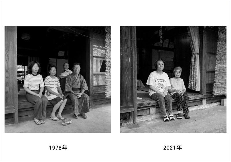 お盆の家族写真-1