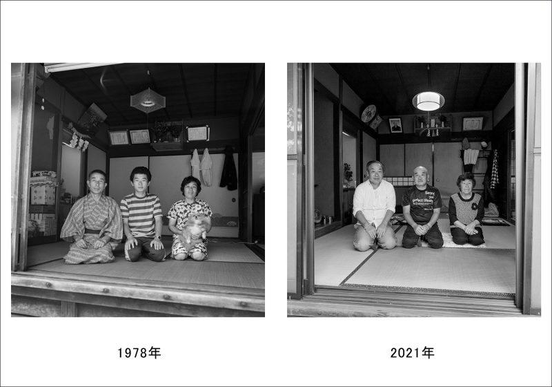 お盆の家族写真-3