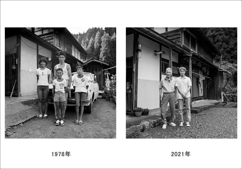 お盆の家族写真-4